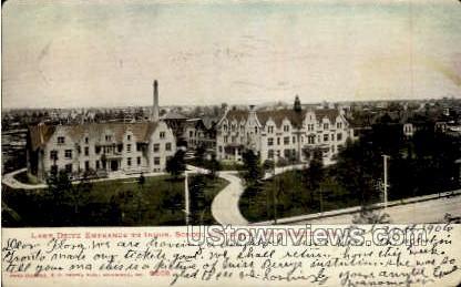 Indus School For Girls - MIlwaukee, Wisconsin WI Postcard