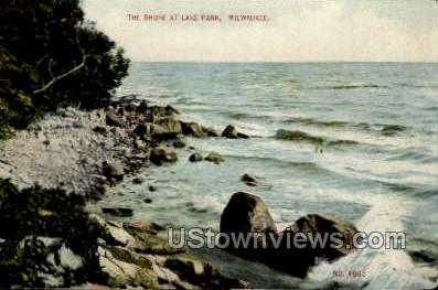The Shore At Lake Park - MIlwaukee, Wisconsin WI Postcard