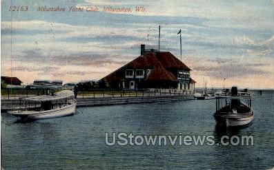 Milwaukee Yacht Club - Wisconsin WI Postcard