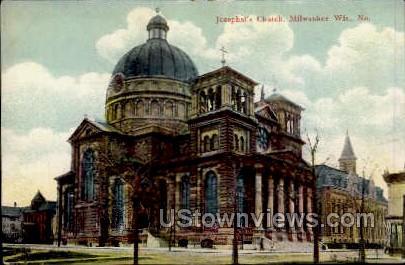 Josaphat's Church - MIlwaukee, Wisconsin WI Postcard