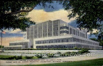 US Department of Agriculture - MIlwaukee, Wisconsin WI Postcard