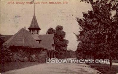Waiting Room, Lake Park - MIlwaukee, Wisconsin WI Postcard