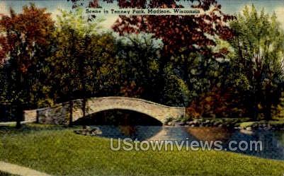 Tenney Park - MIlwaukee, Wisconsin WI Postcard