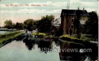 Old Mill - MIlwaukee, Wisconsin WI Postcard