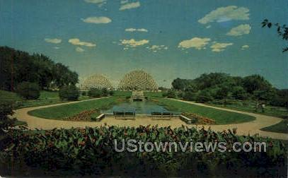 Horticultural Conservatory - MIlwaukee, Wisconsin WI Postcard
