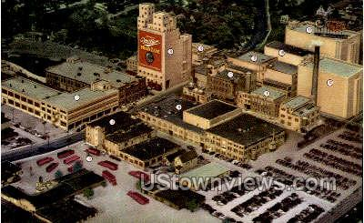 Miller Brewing Company - MIlwaukee, Wisconsin WI Postcard