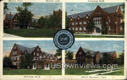 Milwaukee Downer College - Wisconsin WI Postcard