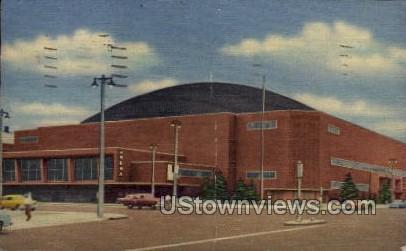 Milwaukee Arena - Wisconsin WI Postcard