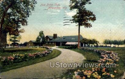 Fox Point Club - MIlwaukee, Wisconsin WI Postcard