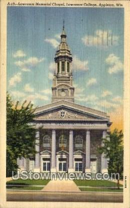 Lawrence Memorial Chapel - MIlwaukee, Wisconsin WI Postcard
