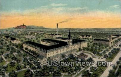 Sacred Heart Sanitarium - MIlwaukee, Wisconsin WI Postcard