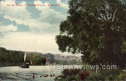 Pleasant Valley - MIlwaukee, Wisconsin WI Postcard