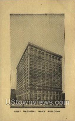 First National Bank - MIlwaukee, Wisconsin WI Postcard