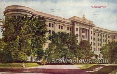 St. Marys Hospital  - MIlwaukee, Wisconsin WI Postcard