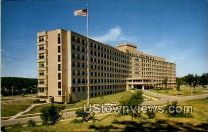 Veterans Administration Hospital - Madison, Wisconsin WI Postcard