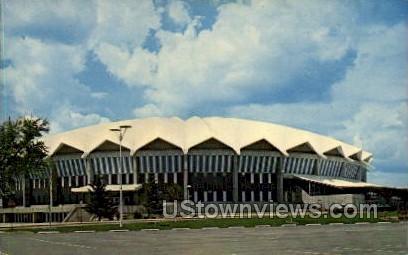 Dane County Memorial Coliseum  - Madison, Wisconsin WI Postcard