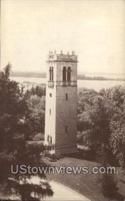 Carillon Tower - Madison, Wisconsin WI Postcard