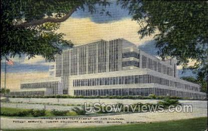 Department Of Agriculture - Madison, Wisconsin WI Postcard