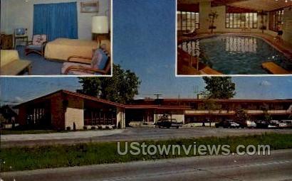 Aloha Inn Motel - Madison, Wisconsin WI Postcard