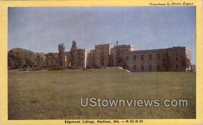 Edgewood College - Madison, Wisconsin WI Postcard