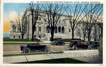 The University Of Wisconsin  - Madison Postcard