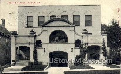 Woman's Building - Madison, Wisconsin WI Postcard