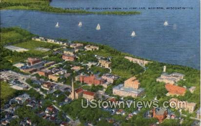 University Of Wisconsin - Madison Postcard