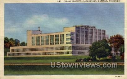 Forest Products Laboratory - Madison, Wisconsin WI Postcard