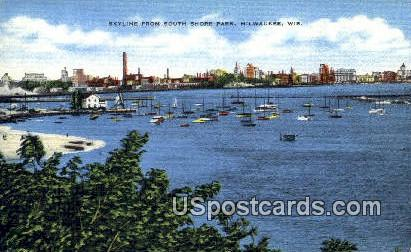 South Shore Park - MIlwaukee, Wisconsin WI Postcard