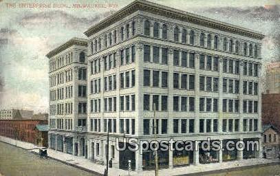 Enterprise Building - MIlwaukee, Wisconsin WI Postcard