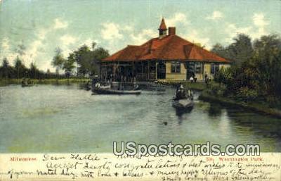 Washington Park - MIlwaukee, Wisconsin WI Postcard