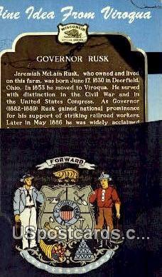 Viroqua Development Association - MIlwaukee, Wisconsin WI Postcard