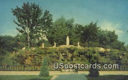 National Shrine, Lady Rosary of Fatima - MIlwaukee, Wisconsin WI Postcard