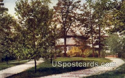 Refectory, Washington Park - MIlwaukee, Wisconsin WI Postcard