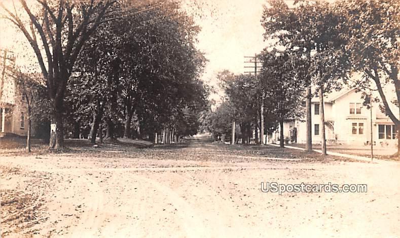 Dirt Road - Milton, Wisconsin WI Postcard