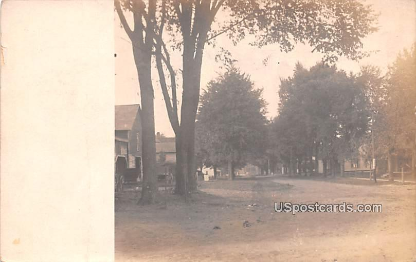 Street Scene - Milton, Wisconsin WI Postcard
