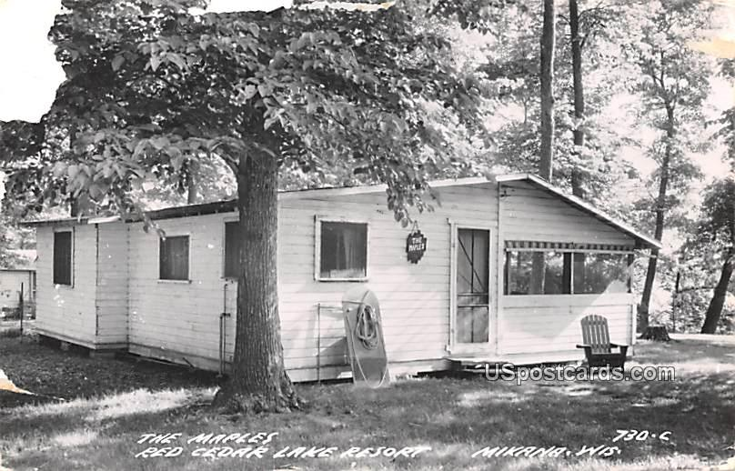 The Maples - Mikana, Wisconsin WI Postcard
