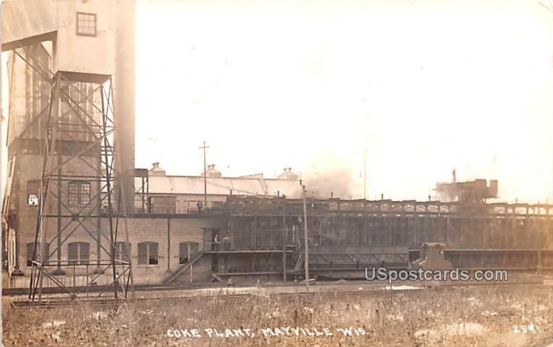 Coke Plant - Mayville, Wisconsin WI Postcard
