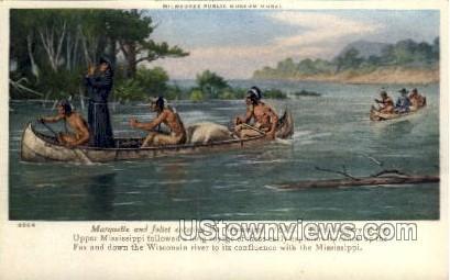 Marquette & Joliet  - Misc, Wisconsin WI Postcard