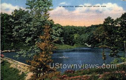 Brown County State Park - Misc, Wisconsin WI Postcard