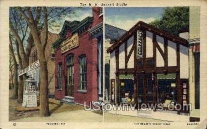 The Bennett Studio - Misc, Wisconsin WI Postcard