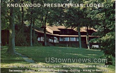 Knollwood Presbyterian Lodge - Misc, Wisconsin WI Postcard