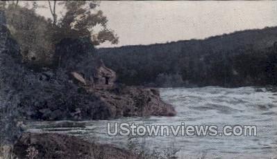 Dells At Saint Croix River - Misc, Wisconsin WI Postcard
