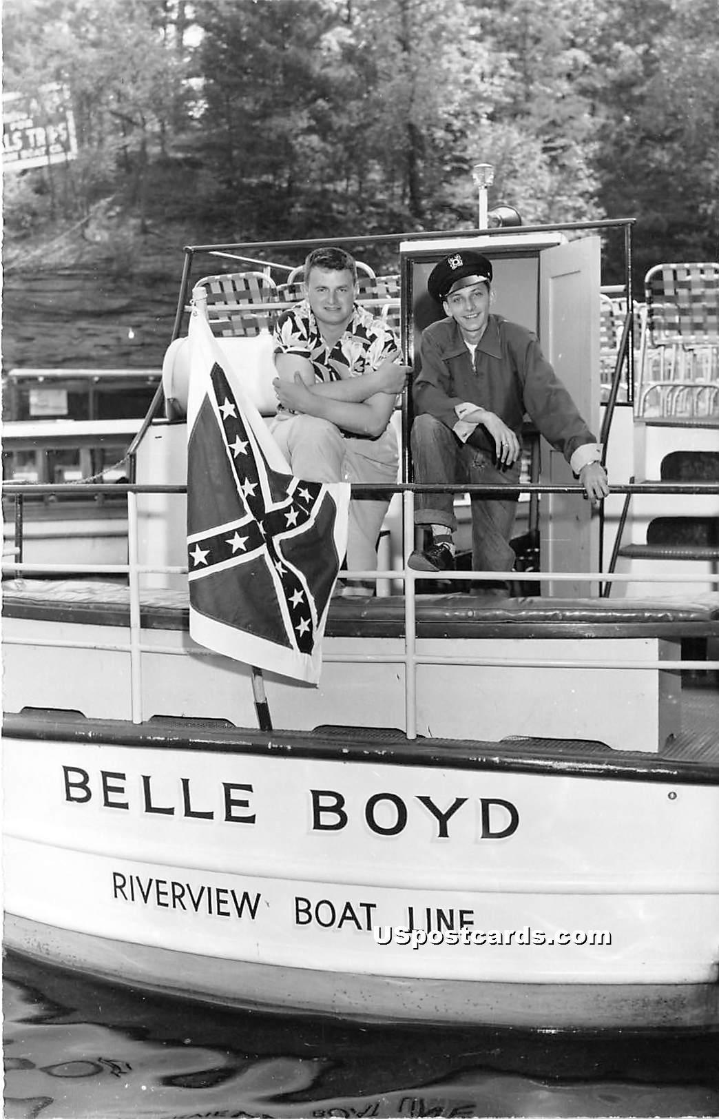 Belle Boyd - Misc, Wisconsin WI Postcard