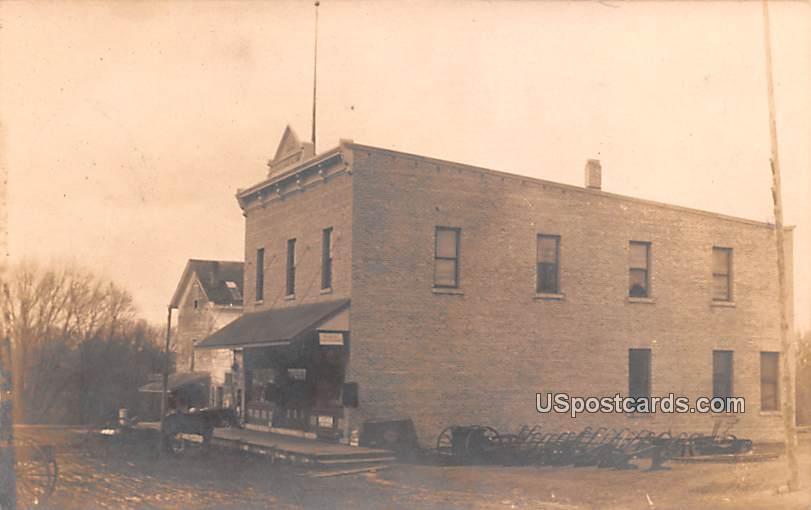 Big Brick Building, Public - Misc, Wisconsin WI Postcard
