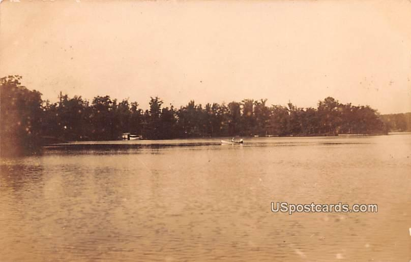 Water View, Camp - Misc, Wisconsin WI Postcard