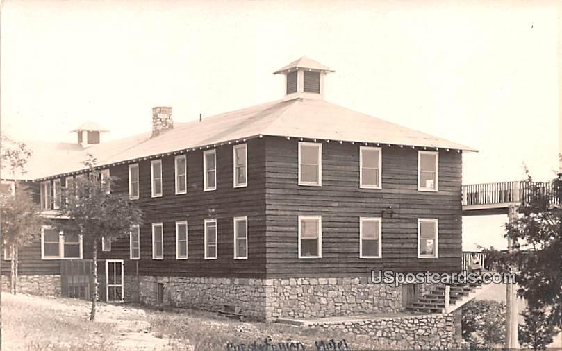 Presbyterian Hotel - Misc, Wisconsin WI Postcard
