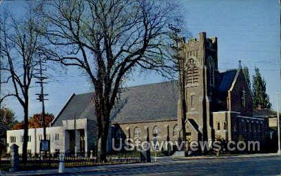St. Pauls Lutheran Church - Neenah, Wisconsin WI Postcard