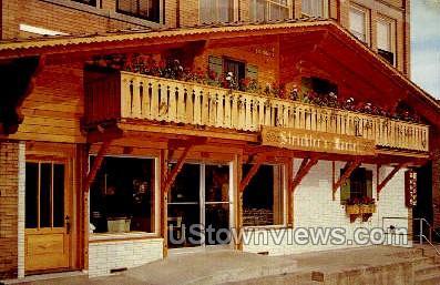 Strickler's Market - New Glarus, Wisconsin WI Postcard