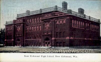 New Richmond High School - Wisconsin WI Postcard